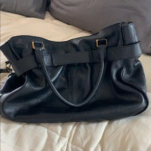 Burberry Bags - Burberry Leather Runway bag!!